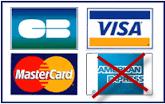 Payez votre voiture de location en Guadeloupe en carte de crédit